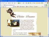 open Divine Dreams site